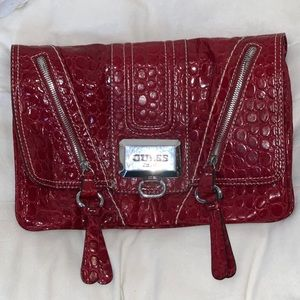 Red guess purse